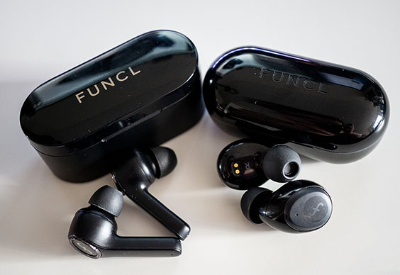 Funcl W1 wireless headphones.