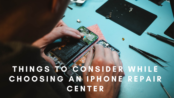 iPhone repair center